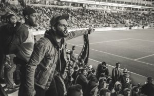 Angry Sports Fan